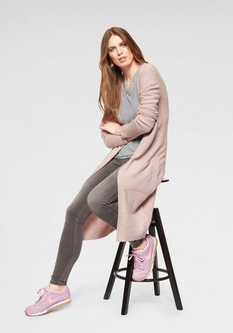 Laura Scott Ilgas megztinis su du aufgesetzten kiš...