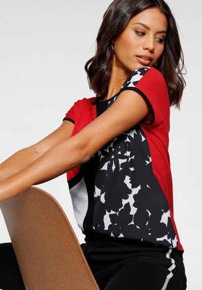 Bruno Banani T-Shirt Im color blocking Design