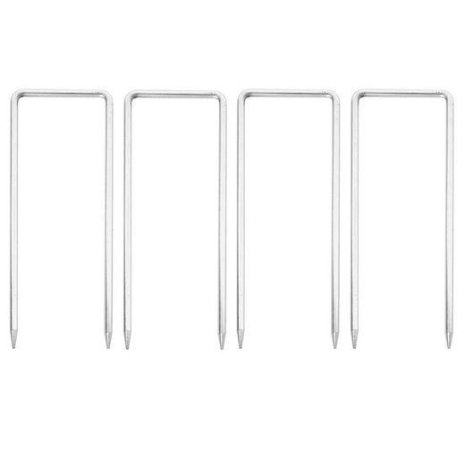 MCW Zelthering »MCW-B34-F«, (Set, 4-St., 4er), Für den Außenbereich, einfache Montage, Geeignet für Absperrgitter B34
