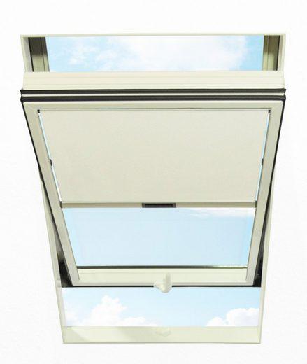 RORO TÜREN & FENSTER Sichtschutzrollo BxL: 74x140 cm, weiß