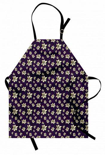 Abakuhaus Kochschürze »Höhenverstellbar Klare Farben ohne verblassen«, Blumen Cartoonish Design Narzissen