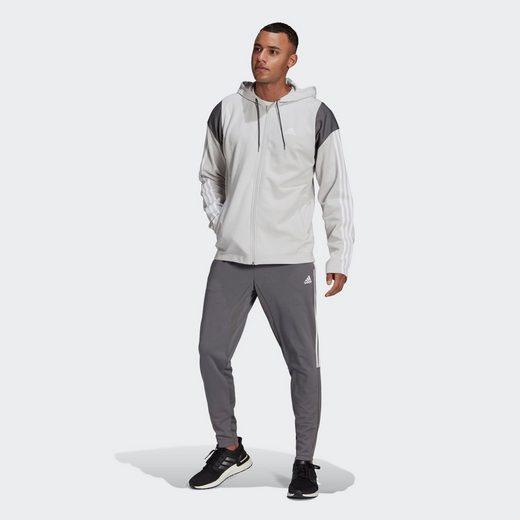 adidas Performance Trainingsanzug »adidas Sportswear Ribbed Insert Trainingsanzug«