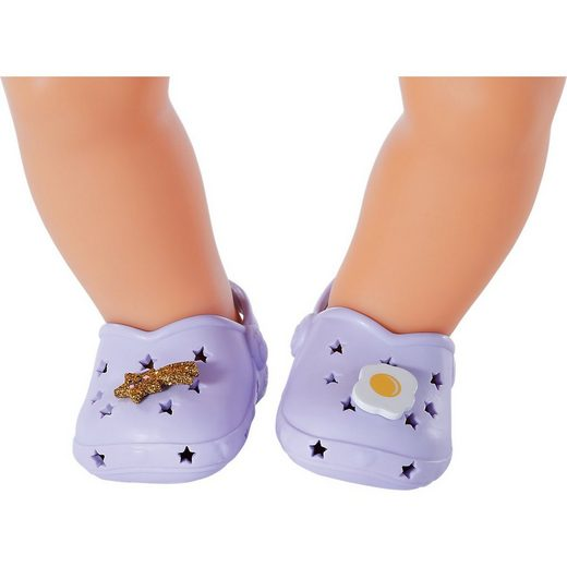Zapf Creation® Puppenkleidung »BABY born Holiday Schuhe m Pins 43 cm grün«