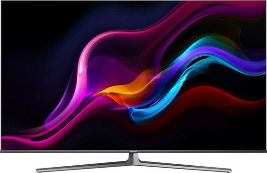Hisense 55U8GQ QLED-Fernseher (139 cm/55 Zoll, 4K Ultra HD, Smart-TV, Quantum Dot ULED Technologie, 120Hz Panel, USB Recording)