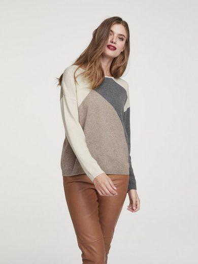 heine CASUAL Pullover gemustert