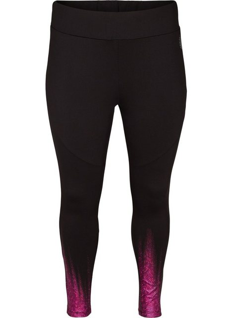 Hosen - Active by ZIZZI Trainingstights Große Größen Damen Leggings in 7 8 Länge mit Print ›  - Onlineshop OTTO