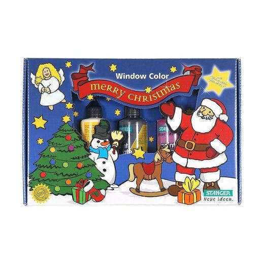 Fenstersticker »Window Color Set Weihnachten«, Stanger