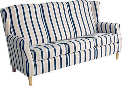 Max Winzer® 3-Sitzer »Luke«, im Retrolook, Breite 196 cm