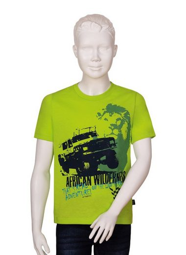 Trigema T-Shirt für Jungen mit großem Druckmotiv