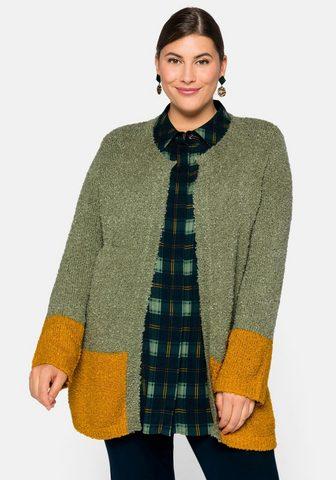 Sheego Megztinis im Colorblocking
