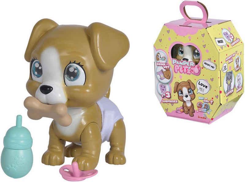 SIMBA Spielfigur »Pamper Petz Hund«, mit Trink- und Nässfunktion
