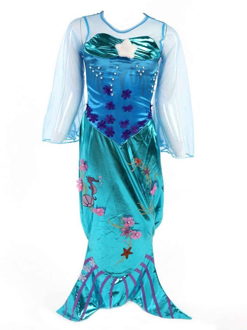 Katara Prinzessin-Kostüm »Meerjungfrau Kostüm-Kleid für Mädchen«