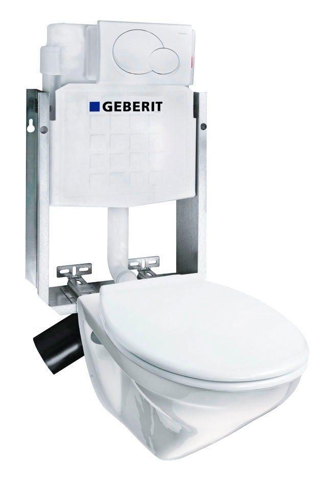 villeroy boch komplett set wand wc omnia pro inkl
