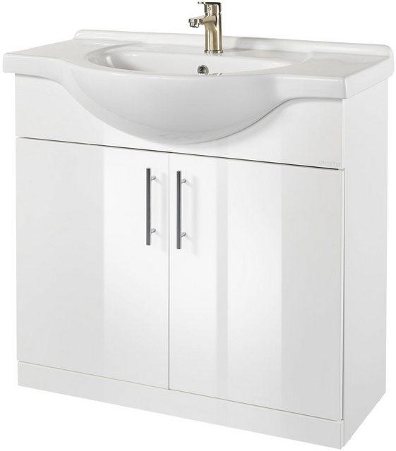 Waschtische - Oristo Waschtisch »Light«, Badmöbel in Breite 92 cm  - Onlineshop OTTO