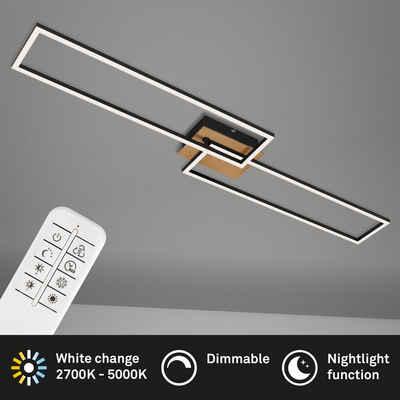 Briloner Leuchten Deckenleuchte »3145-014«, Deckenlampe dimmbar schwenkbar CCT Steuerung