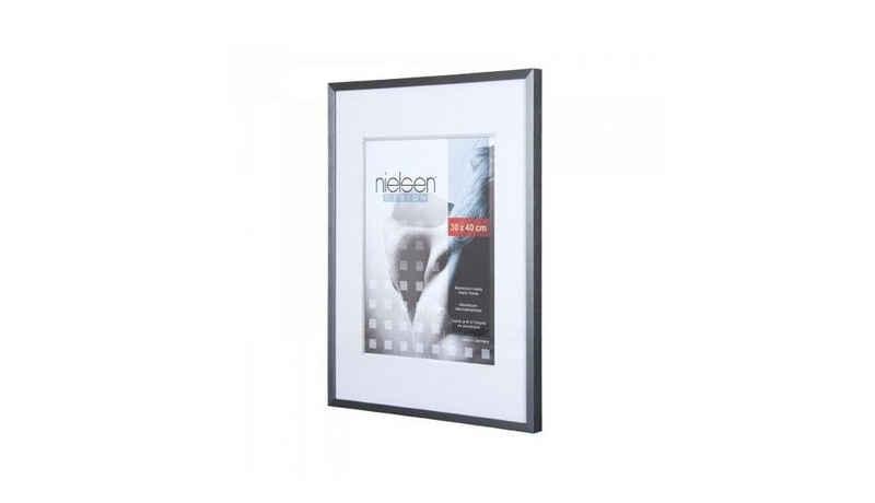 nielsen Bilderrahmen »Metallrahmen C2 40x50 cm grau matt 64051«