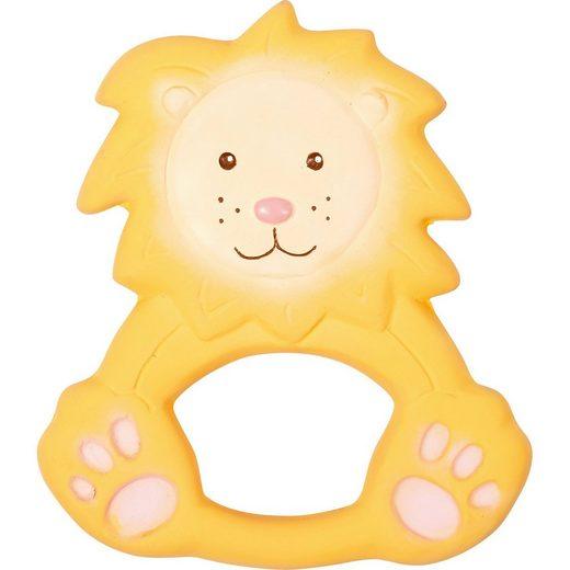 Spiegelburg BabyGlück: Beißring aus Naturkautschuk Löwe Louis