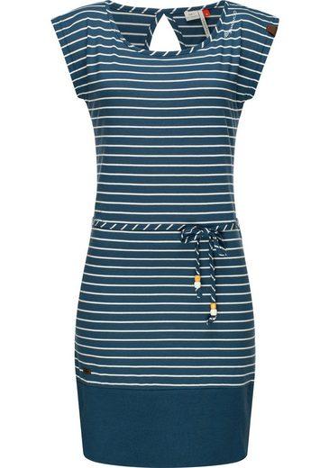 Ragwear Sommerkleid »Soho Stripes« leichtes Baumwoll-Kleid mit angesagtem Streifenmuster
