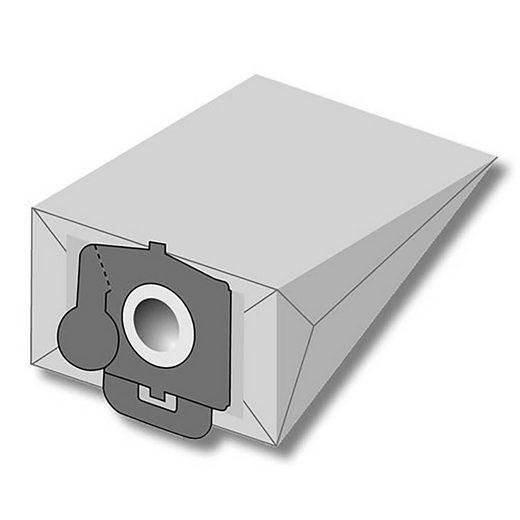 eVendix Staubsaugerbeutel Staubsaugerbeutel passend für Bomann B 32, 10 Staubbeutel + 2 Mikro-Filter + 2 Motor-Filter, kompatibel mit SWIRL O91, passend für Bomann