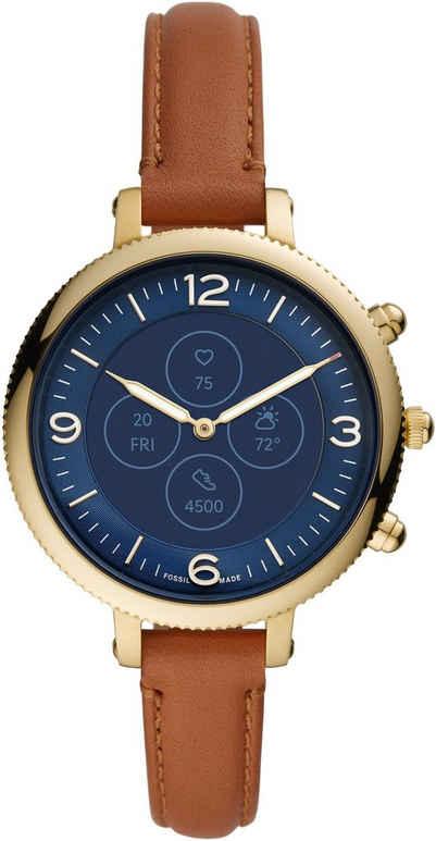 Fossil Smartwatches MONROE HYBRID SMARTWATCH HR, FTW7034 Smartwatch