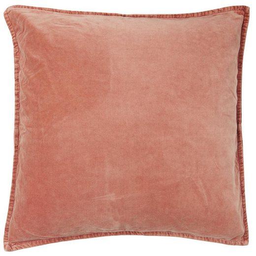 Ib Laursen Kissenbezug »Kissenbezug Kissenhülle Samt Velour Desert Rose Rot 52x52cm Ib Laursen 6230-64«