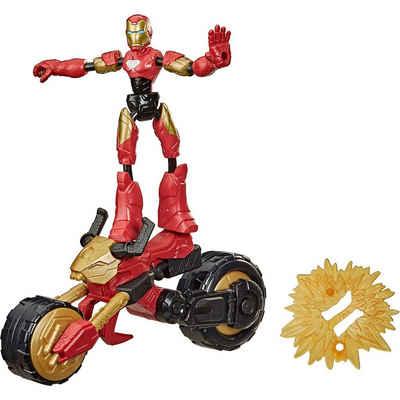 Hasbro Actionfigur »Marvel Bend and Flex, Flex Rider Iron Man«