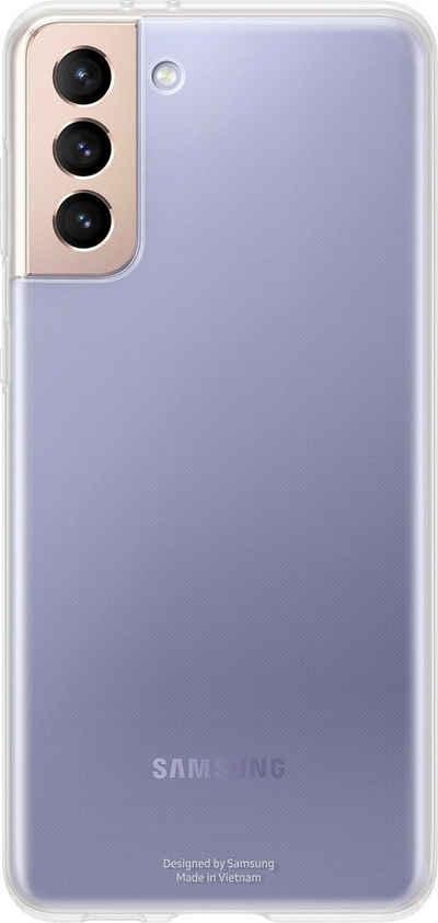 Samsung Smartphone-Hülle »Clear Cover EF-QG996 für Galaxy S21+« Samsung Galaxy S21+ 17 cm (6,7 Zoll)