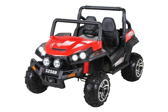 Actionbikes Motors Elektro-Kinderauto »Kinder Elektroauto Maverick Offroad Buggy«, Belastbarkeit 50 kg, für 2 Kinder - inkl. Fernbedienung