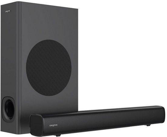Creative Stage 2 2.1 Soundsystem (AVRCP Bluetooth, A2DP Bluetooth, 160 W)