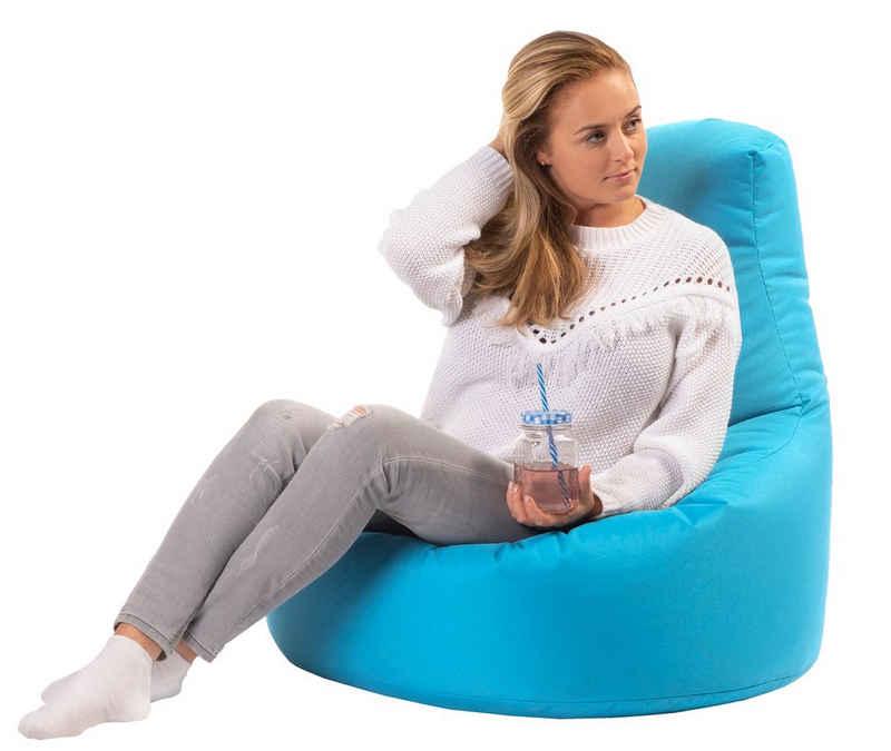 sunnypillow Sitzsack »Gaming Sitzsack XXL mit Styropor Füllung Outdoor & Indoor für Kinder & Erwachsene«