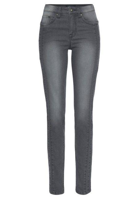Hosen - Arizona Slim fit Jeans Mit modischen Nahtverläufen NEUE KOLLEKTION › grau  - Onlineshop OTTO