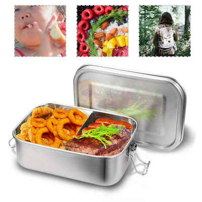 Einfeben Lunchbox »1400ml Brotdose Metall Brotdose Thermobehälter Lunchbox BPA frei Edelstahl«