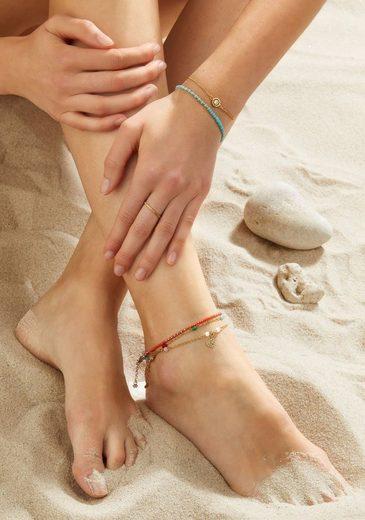 CIAO! BY LEONARDO Fußkette »Nonna CIAO, 018285«, mit Glasperlen