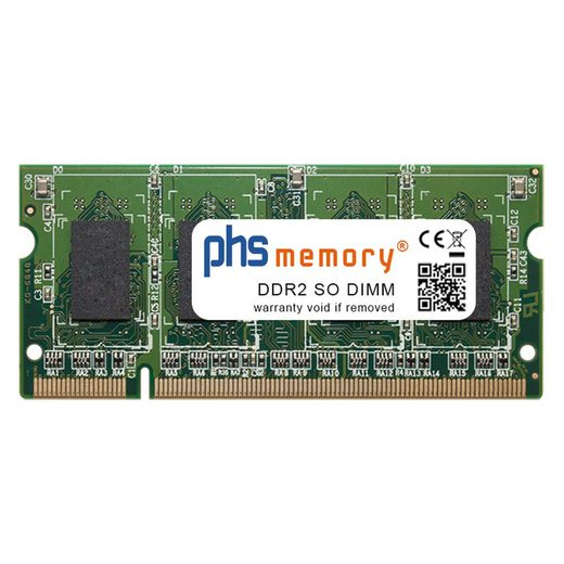 PHS-memory »RAM für Lexmark C734dtn« Arbeitsspeicher