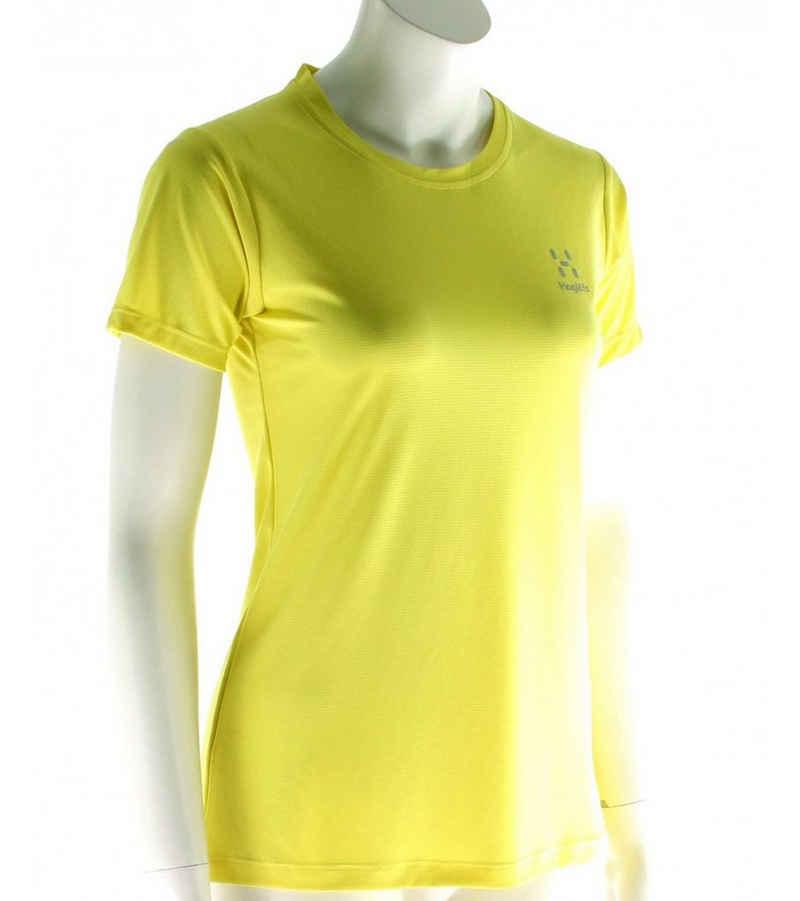 Haglöfs Funktionsshirt »Haglöfs Lim Tech Funktions T-Shirt atmungsaktives Damen Sport-Shirt Outdoor-Shirt Gelb«