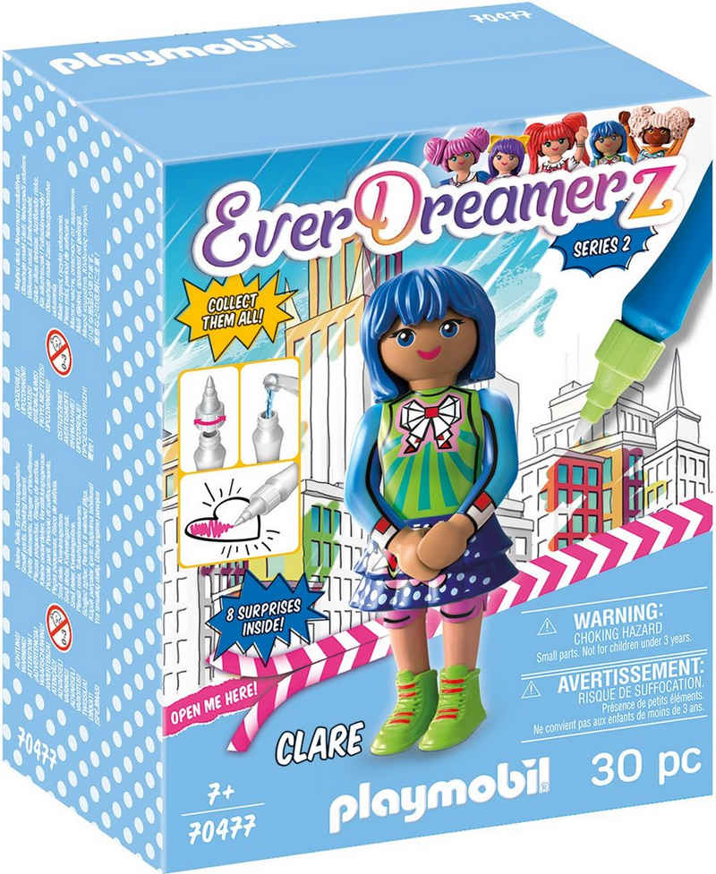 Playmobil® Konstruktions-Spielset »Clare - Comic World (70477), EverDreamerz«, (30 St), Made in Europe