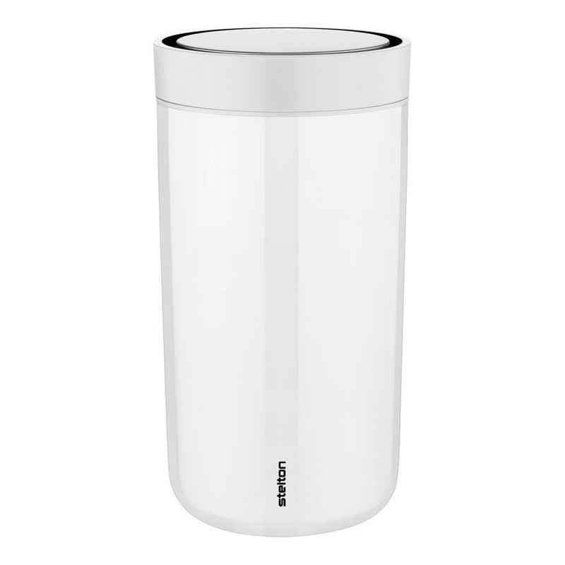 Stelton Coffee-to-go-Becher »To Go Click chalk 200 ml«, Stahl