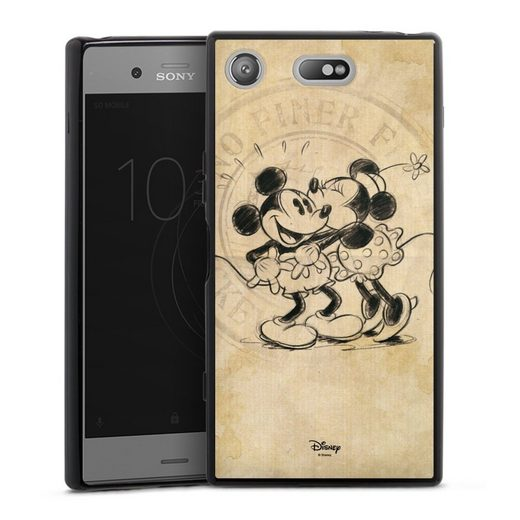 DeinDesign Handyhülle »Minnie&Mickey« Sony Xperia XZ 1 Compact, Hülle Mickey Mouse Offizielles Lizenzprodukt Minnie Mouse