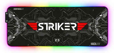 Hyrican Gaming Mauspad »Striker ST-MP25B XXL RGB LED«, 800 x 300 mm