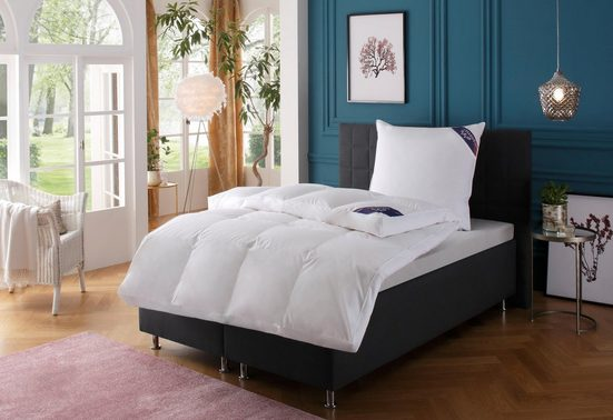 Daunenbettdecke, »Zürich«, Excellent, polarwarm, Füllung: 100% Daunen, Bezug: 100% Baumwolle, (1-tlg), hergestellt in Deutschland