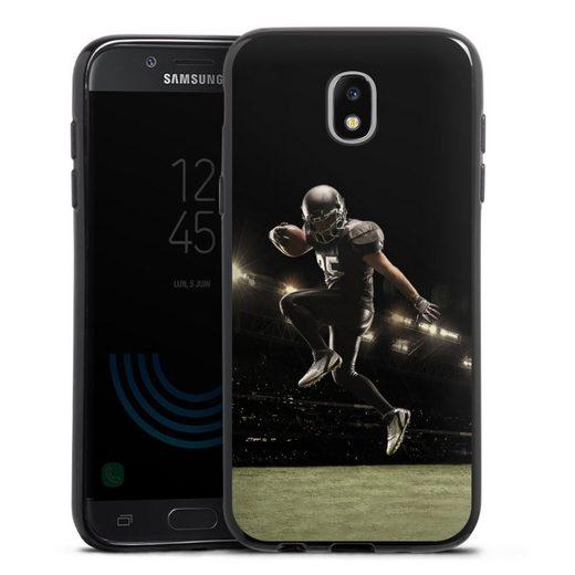 DeinDesign Handyhülle »Football spotsman player« Samsung Galaxy J5 (2017), Hülle Fanartikel American Football Fußballer
