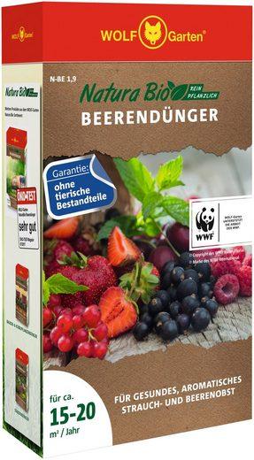WOLF-Garten Pflanzendünger »Natura-Bio N-BE 1,9«, Granulat, 1,9 kg