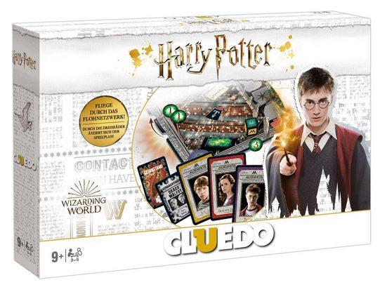 Winning Moves Spiel, Brettspiel »Cluedo Harry Potter (2019, wei)«
