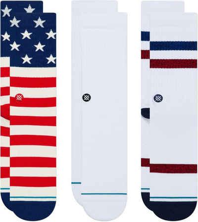 Stance Basicsocken »The Americana 3 Pack«