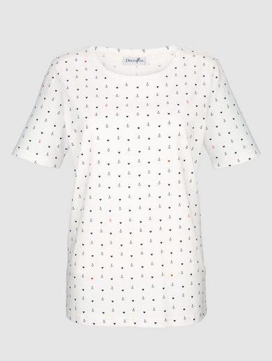 Dress In Shirt mit Ankerprint
