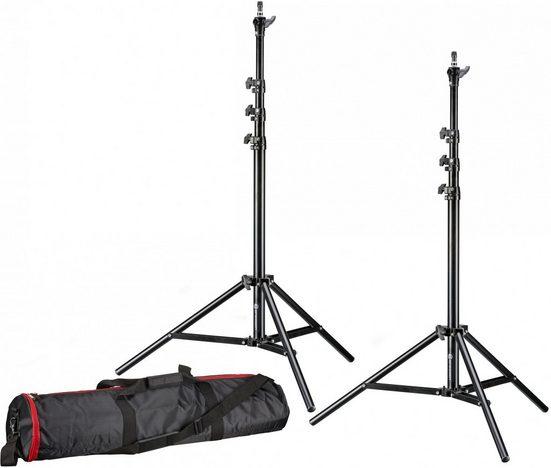 BRESSER Lampenstativ »Set BR-TP240 PRO-1 (2 Stück) inklusive Tasche«