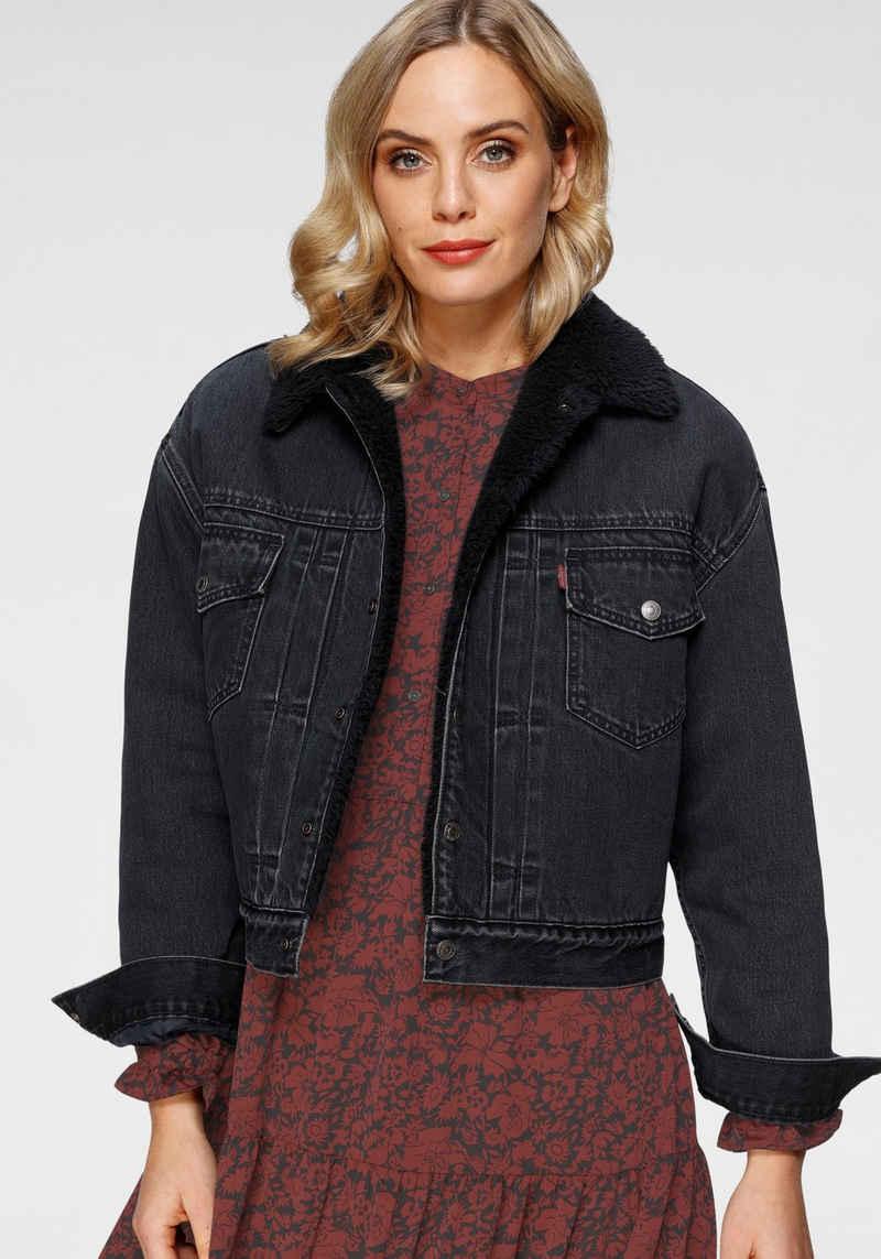 Levi's® Jeansjacke »New Heritage Sherpa« mit weichem Teddy-Futter