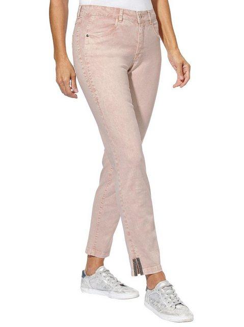 Hosen - Ambria Stretch Jeans › beige  - Onlineshop OTTO