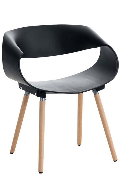 Stühle und Bänke - CLP Esszimmerstuhl »Tuva« mit Kunststoffsitzschale und Gestell aus Buchenholz  - Onlineshop OTTO