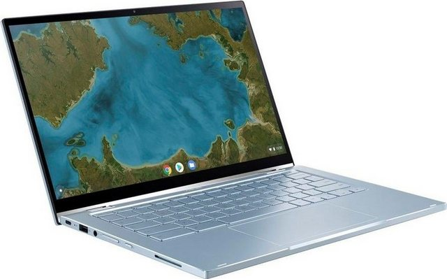 Asus C433TA-AJ0185 Notebook 35,56 cm 14 Zoll, Intel Core m3, HD Graphics 615, Kostenloses Upgrade auf Windows 11, sobald verfügbar